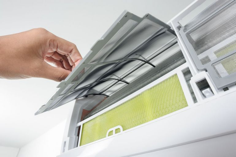 Como Limpiar los filtros del aire acondicionado